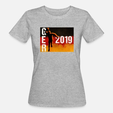 Handball Fan Handball Deutschland WM 2019 WM Fan - Frauen Bio-T-Shirt