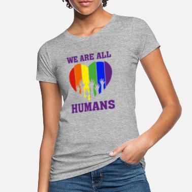 Christopher Streed Day We are ALL HUMANS Geschenk - Frauen Bio T-Shirt