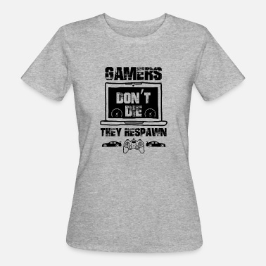 Zocker Konsole Gamer Konsole Controller Video Game Zocker zocken - Frauen Bio-T-Shirt