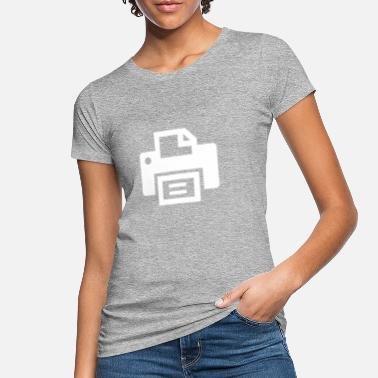 Printer printer - Økologisk T-shirt dame