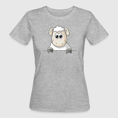 Schaf Comic - Frauen Bio-T-Shirt