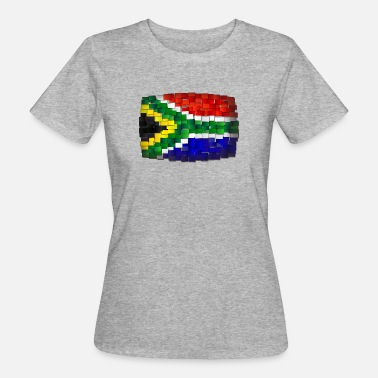 South Africa Flag flag South Africa - Women's Organic T-Shirt