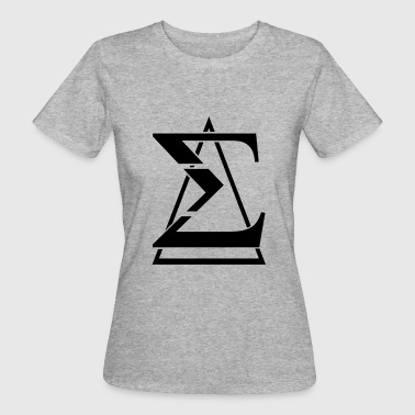 Sigma triangle - Women's Organic T-Shirt