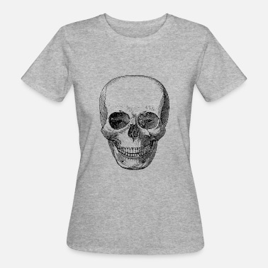 Skull Cartoon Skull - Ekologisk T-shirt dam