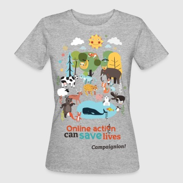 Save lives - Women's Organic T-Shirt