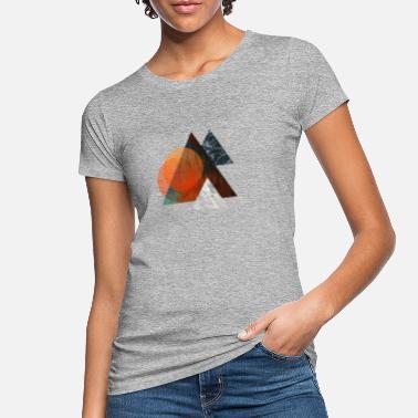 4f95030f5203d Triángulo Todo en el triángulo - Camiseta orgánica mujer