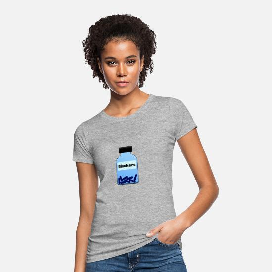 Magic T-Shirts - Block! - Women's Organic T-Shirt heather grey