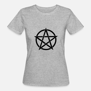 Magia Wicca pentagrama Wicca - Camiseta ecológica mujer
