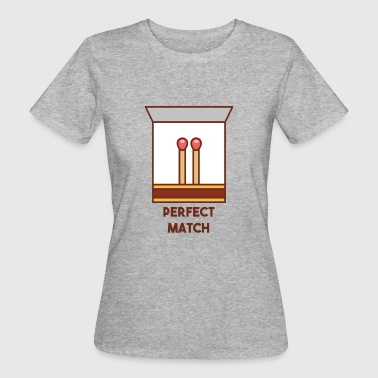 Perfect Match - Frauen Bio-T-Shirt