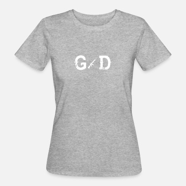 God Soldier God Legend God SOLDIER - Women's Organic T-Shirt