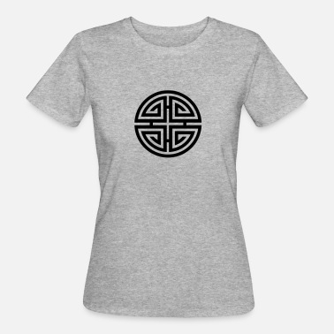 Charms Amulet Shou Four blessings, Chinese Good Luck Symbol, Charms - Women's Organic T-Shirt