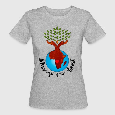 Blessings Of The Forest - Women's Organic T-shirt