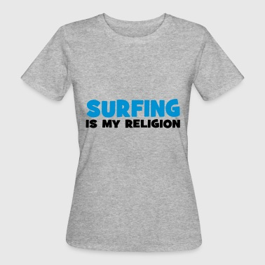 2541614 112958415 surfing - Frauen Bio-T-Shirt