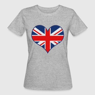 I LOVE UK - T-shirt ecologica da donna