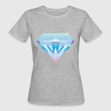 diamond - Frauen Bio-T-Shirt