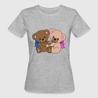 peluches dulces - Camiseta ecológica mujer