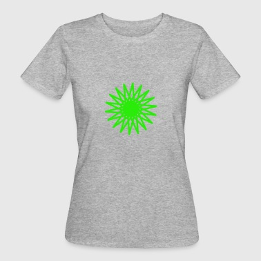 pink star - Women's Organic T-shirt