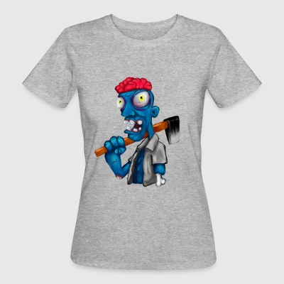 Blue Zombie - Frauen Bio-T-Shirt