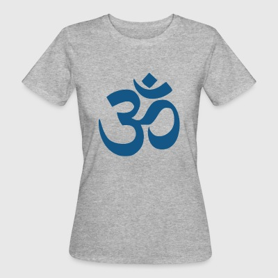 om blue - Women's Organic T-shirt