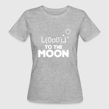 ALTCOIN CRYPTO COIN: TO THE MOON - Women's Organic T-shirt