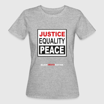 Black Lives Matter political protest shirt - Women's Organic T-shirt