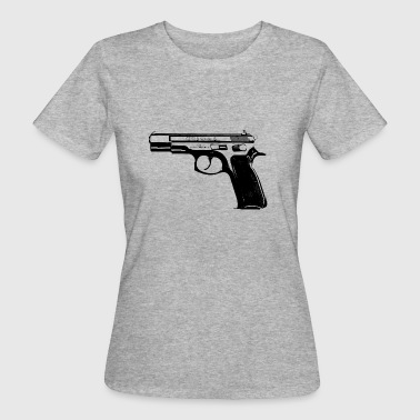 CZ75B 9mm pistool - Vrouwen Bio-T-shirt