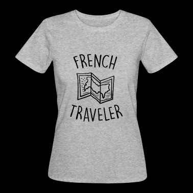 french traveler - T-shirt bio Femme