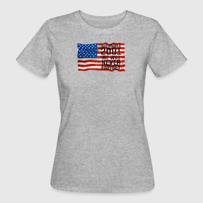 Septmenber 11 2001 Gift World Trade Center - T-shirt Bio Femme