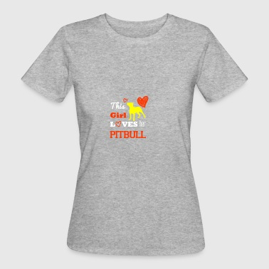 This girl pitbull - Women's Organic T-shirt