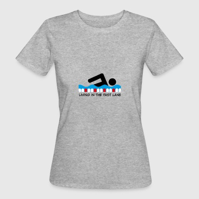 6061912 120102800 swimming - Women's Organic T-shirt