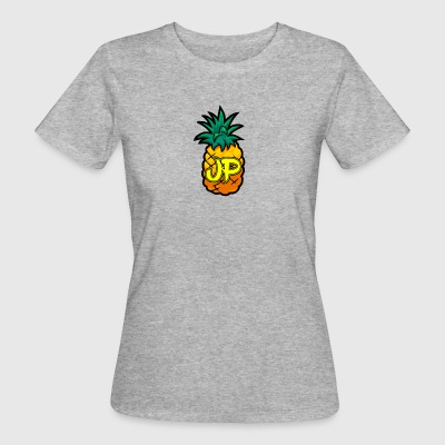 Just Pine Logo Yellow - Women's Organic T-shirt