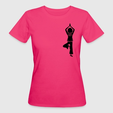 Yoga Girl, Tree, asana, yoga teachers, meditation - T-shirt bio Femme