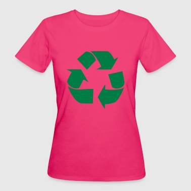 Recycling for the World - T-shirt bio Femme