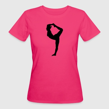 Sportlerin Turnen Aerobic Yoga Pilates - Frauen Bio-T-Shirt