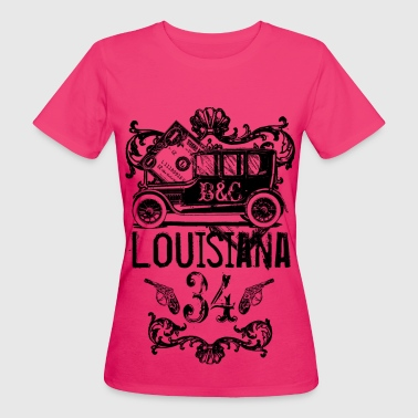 louisiana - Frauen Bio-T-Shirt