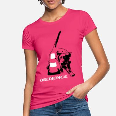 Obedience Obedience mit Deutsch Drahthaar - Frauen Bio T-Shirt