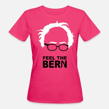 Bernie Sanders FEEL THE BERN - SANDERS - Frauen Bio-T-Shirt