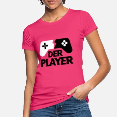 THE PLAYER Gamepad - Gamer - Zocker - Maglietta ecologica donna