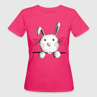Cute bunny - bunny - rabbit - rabbit - Women's Organic T-Shirt