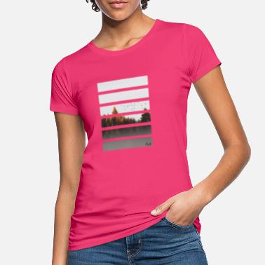 Forest Stripes by Oak - Women's Organic T-Shirt
