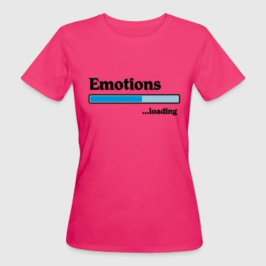emotions loading... - Ekologisk T-shirt dam