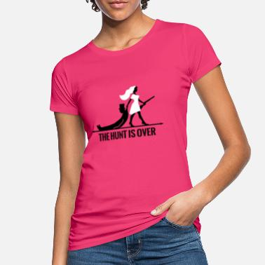 Vorbei The hunt is over JGA Junggesellenabschied Party - Frauen Bio T-Shirt