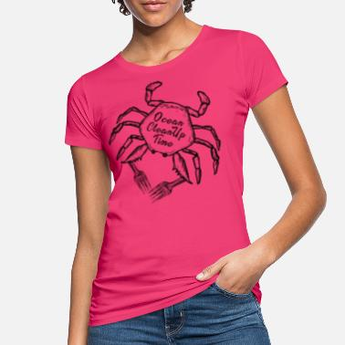 Clean Oceans Time for Ocean Clean Up - Women's Organic T-Shirt