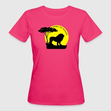 Löwe spirit of africa - Frauen Bio-T-Shirt