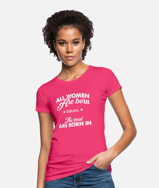 Mom Birthday T-Shirts - Birthday present - Women's Organic T-Shirt neon pink