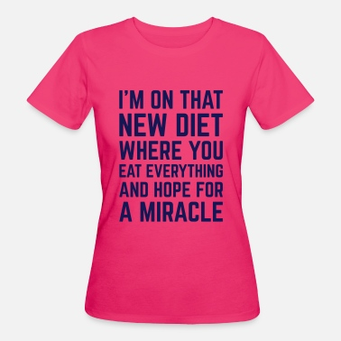 Fitness New Diet Motivatie Sport - Vrouwen Bio-T-shirt