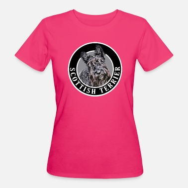 Scottish Terrier Scottish Terrier Dog 002 - Women's Organic T-Shirt