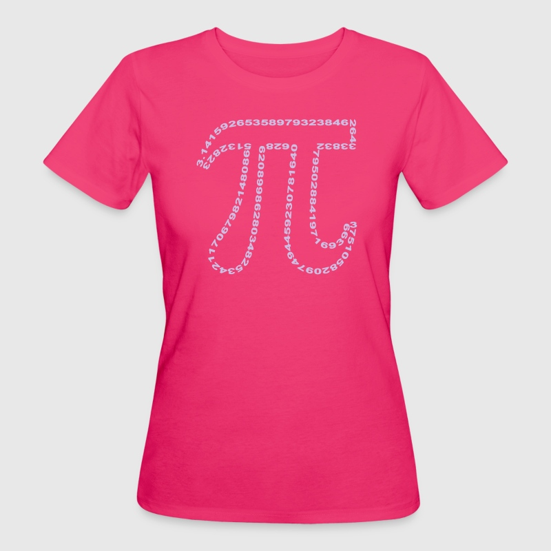 pi outline - Ekologisk T-shirt dam