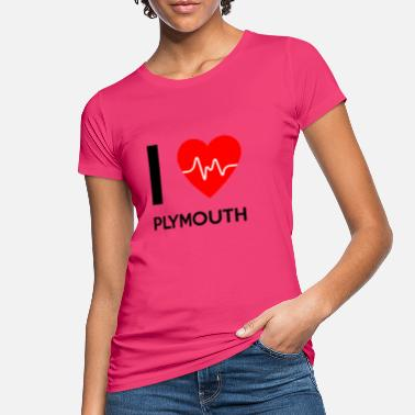 Plymouth I Love Plymouth - I love Plymouth - Women's Organic T-Shirt