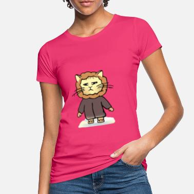 Wintermantel Winter - Katze - Frauen Bio T-Shirt